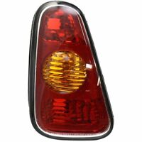 Tail Light For 2002-2006 Mini Cooper Lh Amber & Red Lens on sale