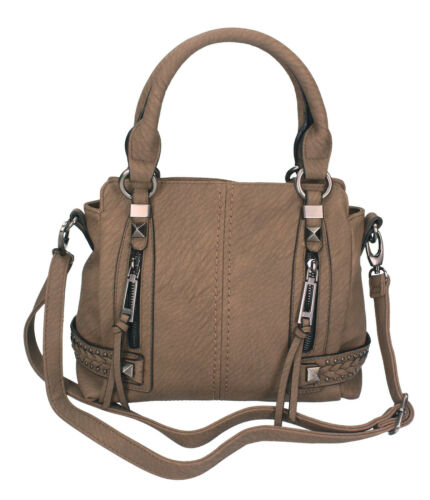 Betz Damen Handtasche MILANO 4 Henkeltasche Umhängetasche mit Reißverschluss