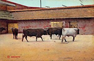 LOT OF 7 BULLFIGHTING IN SPAIN POSTCARDS~SUERTA de CAPA-VARA-ENCIERRO-CUSDRILLA