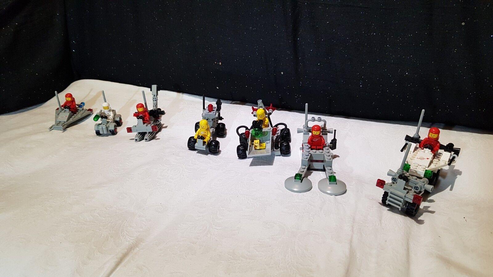 Lego vintage classic space  7 sets  C 100%