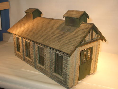 On30 BIG SPRINGS ENGINE HOUSE Resin building kit brand new reissue O On3