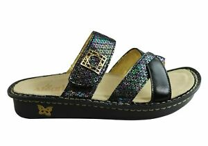 Brand-New-Alegria-Victoriah-Womens-Comfortable-Leather-Slides-Sandals