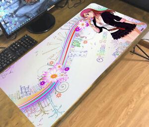 Bleach Inoue Orihime Anime Mouse Pad Mat Large Keyboard Desk Mat Game Playmat