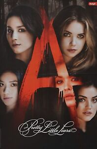 PRETTY-LITTLE-LIARS-A3-Poster-42-x-28-cm-Ashley-Benson-Lucy-Hale-Clippings
