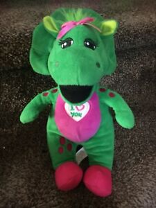 "Details about Fisher-Price Baby Bop Barney I Love You 10"" Plush Singing Toy  MINT Looks New!"