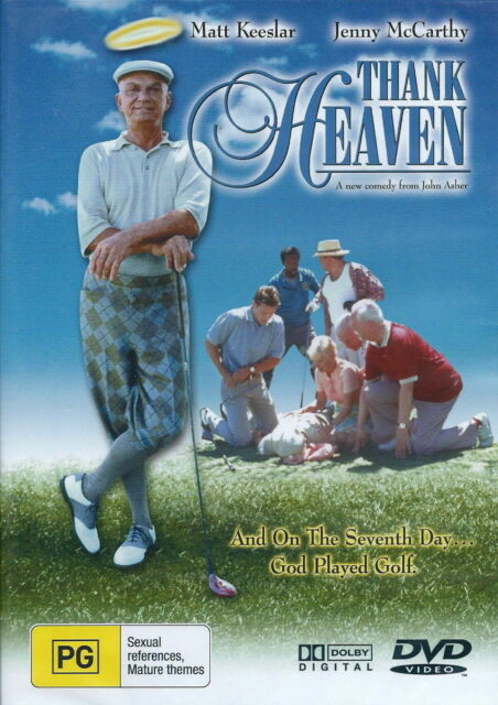 Thank Heaven DVD - 2001 Matt Keeslar, Jenny McCarthy GOD FEEL GOOD FAMILY MOVIE