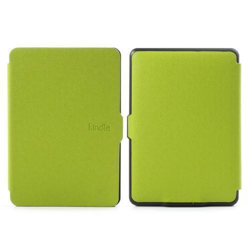 Schutz Tasche Hülle Flip Cover Case f Amazon Kindle Paperwhite SLIM A. GRÜN 05F