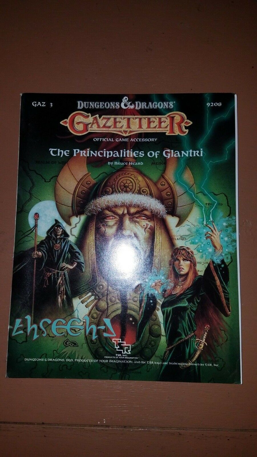 TSR  D&D Gazetteer Series GAZ3 - THE PRINCIPALITIES OF GLANTRI ; complete