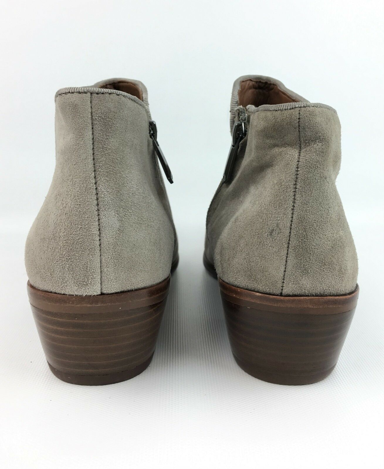 Sam Edelman 'Petty' 'Petty' 'Petty' Putty Gray Suede Ankle Heeled Booties sz: US 7 e834a2