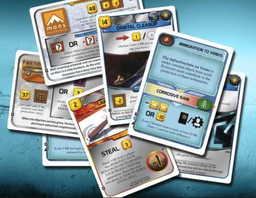 Terraforming Mars Turmoil Kickstarter Promo Cards Pack