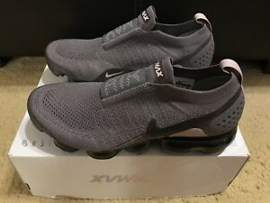 756b2d099b7a Nike Air Vapormax Flyknit Moc 2 Women sz 11 Gunsmoke Blackened Blue ...