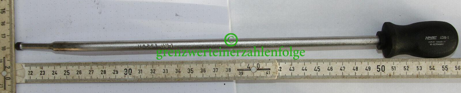 1x Hazet 4519 Mercedes 102589131500 Plombeneindrücker Stopfen Eingriffsicherung