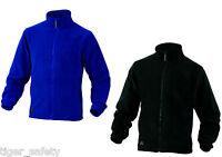 Delta Plus Panoply Vernon Mens Polar Fleece Jacket Coat Top Blue Black