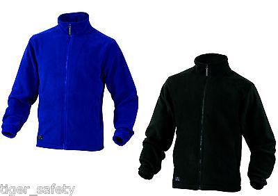 Razionale Delta Plus Panoply Vernon Da Uomo In Pile Giacca Cappotto Top Blu Nero Nuovo Con Etichetta-