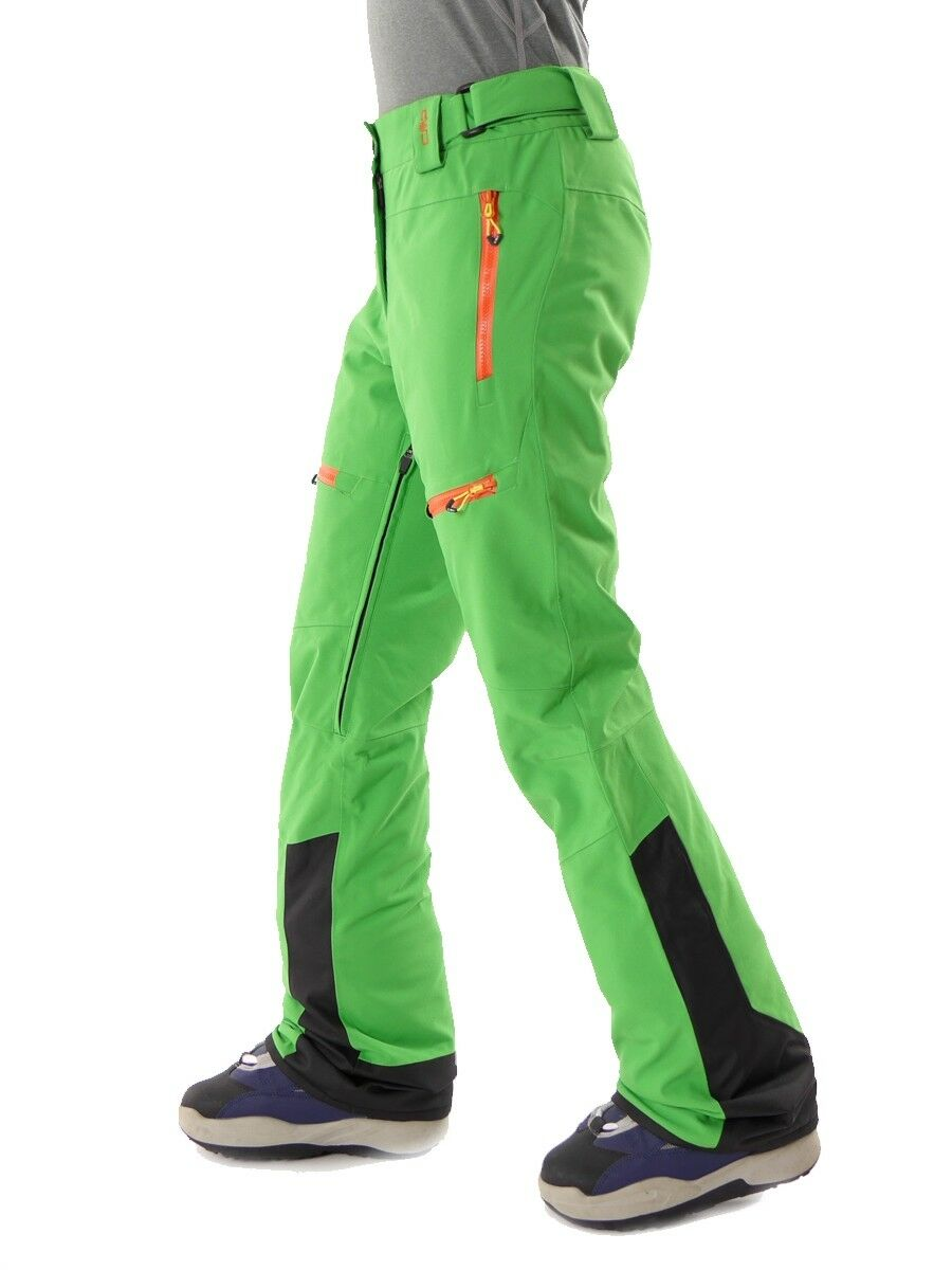 CMP CMP CMP Skihose Winterhose Snowboardhose grün ClimaProtect® Klett warm 315039