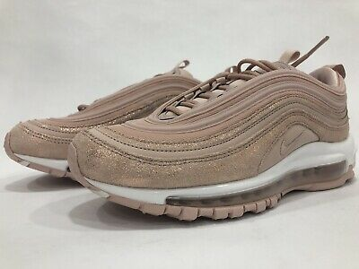 New Nike Womens Air Max 97 SE Sz 8 Rose Gold Pink White AV8198 200 | eBay