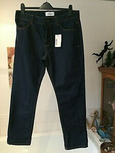 BNWT Americano Deadstock 80s Straight Leg SLIM FIT DENIM Jeans W30 W31 W32 Blue