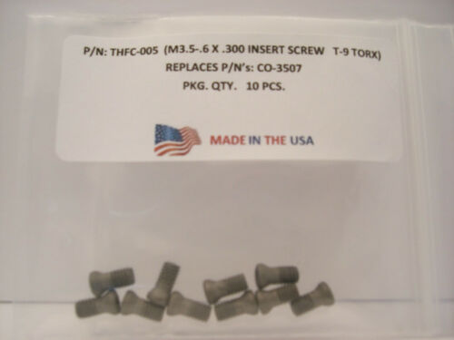 10 Pieces THFC-005 Insert Screw CO-3507
