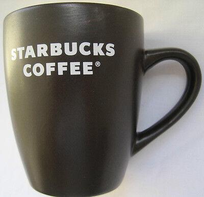 STARBUCKS Coffee Cup Mug Brown 12oz 2008 Classic
