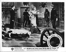 Lot of 3, Ingrid BERGMAN, Jean MARAIS stills PARIS DOES STRANGE THINGS (1956)aka