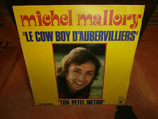 """michel mallory/ johnny hallyday""""le cow-boy d'aubervilliers""""sgle7""""or.fr.h.6061307"""