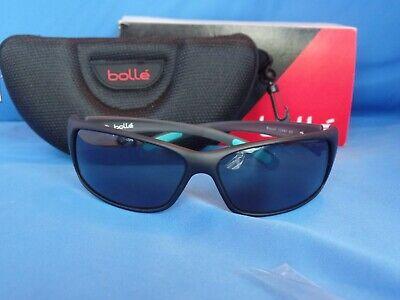 Bolle Recoil Sunglasses Matte Grey//Mint Frame w// TNS Gun Lens 12440