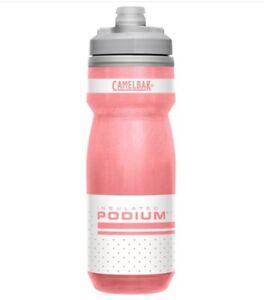 Camelbak Podium Chill Bike Bottle Insulated Reflective Pink 21 oz
