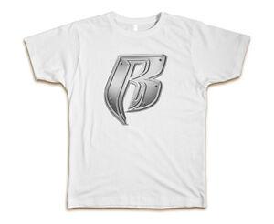Ruff-Ryders-Custom-Mens-T-Shirt-Tee-S-3XL-New-White