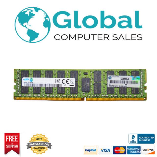 HP 16GB LP SDRAM RDIMM MEMORY 647901-B21 664692-001 647653-081