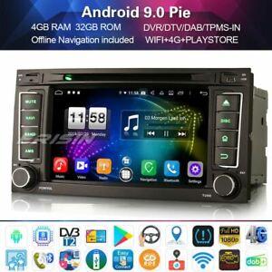 WIFI OBD swc Android 9.0 auto estéreo para VW Touareg T5 Multivan CD GPS SatNav DAB
