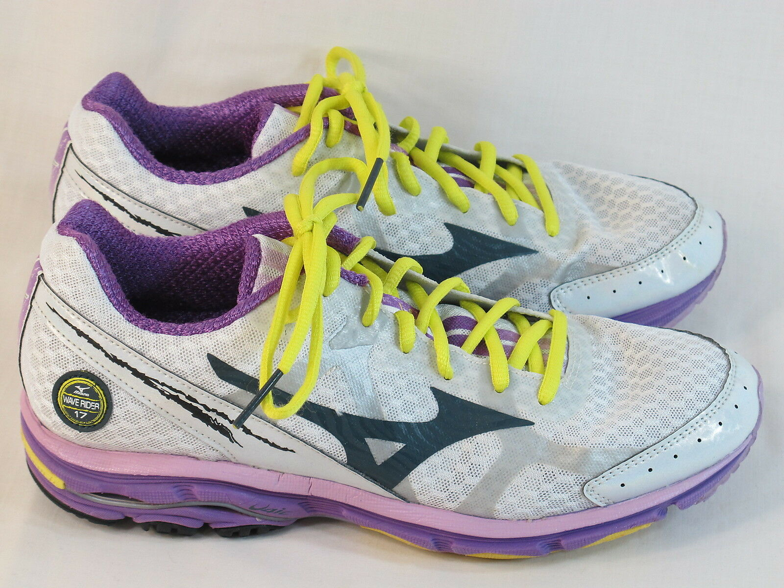 Mizuno Wave Rider 17 Running shoes Women's Size 9 US Excellent Plus Condition