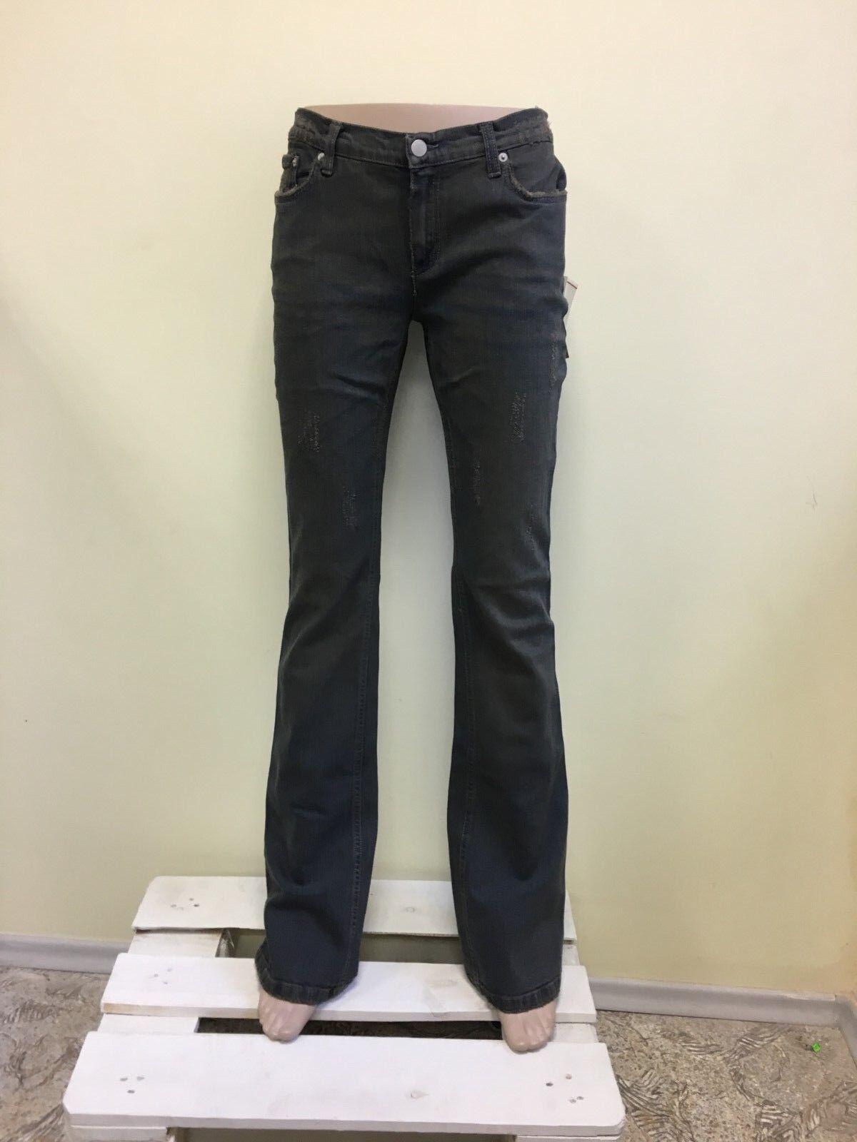 RICHMOND women's dark grey jeans BOOTCUT NWD