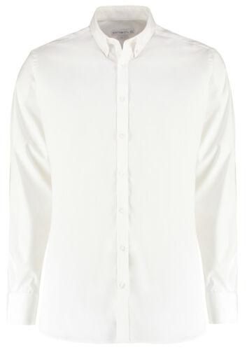 Kustom Kit Mens Stretch Oxford Shirt