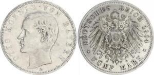 Bayern 5 Mark Otto 1904 D   J.46  sehr schön+
