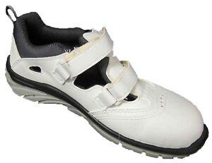 Arbeitsschuhe Sicherheitssandale Sandale UPower White Scandy S1 weiss 43 44