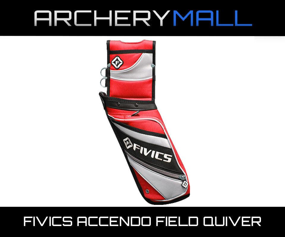 Fivics Accendo Field Quiver - Red