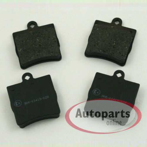 Mercedes Clk C208 C209 Bremsbeläge Bremklötze für hinten die Hinterachse*
