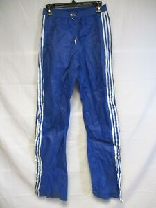 Détails sur Pantalon ADIDAS windbreaker style k way vintage Ventex pant nylon bleu 186 XL D7