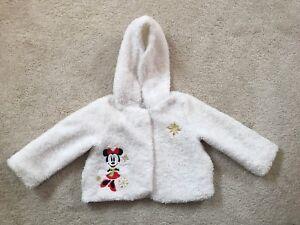 5e8fd3e10 Image is loading Disney-Store-Minnie-Mouse-Faux-Fur-Baby-Jacket-
