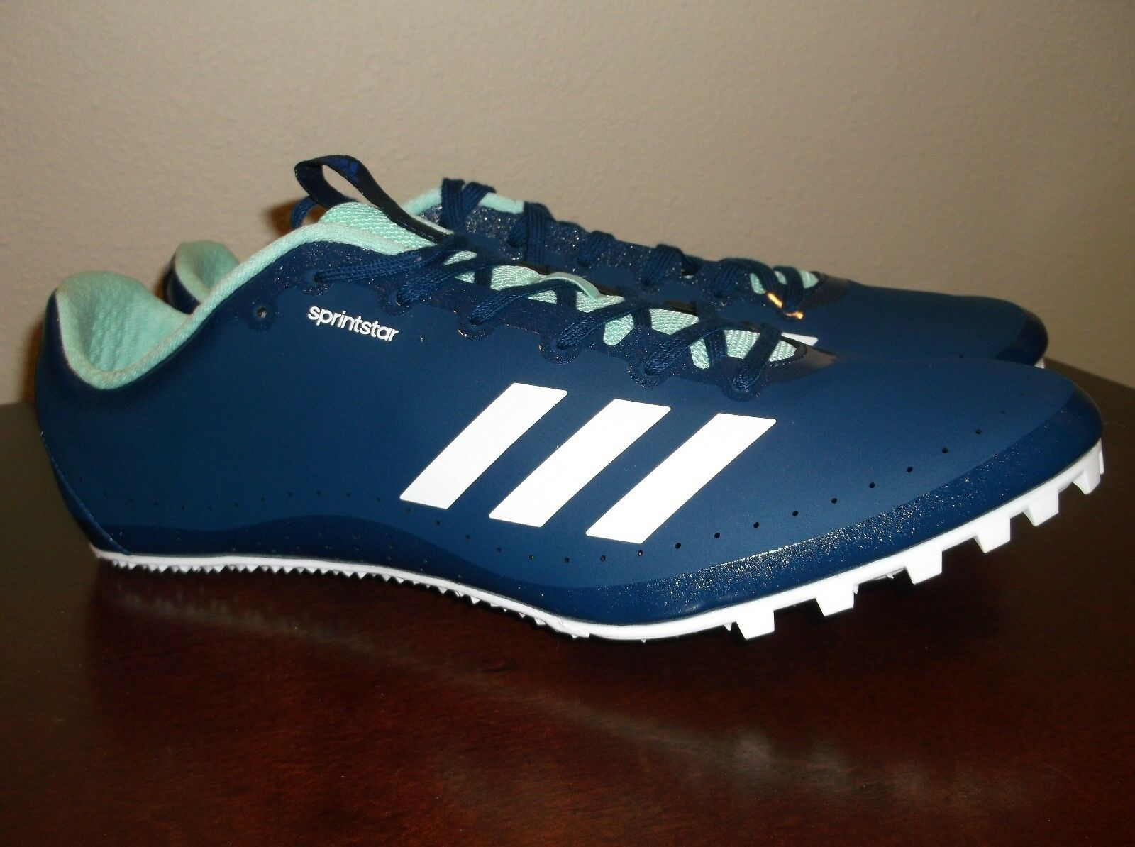 Adidas SprintStar Track and Field Sprint Spikes size 12 nwt Free Ship