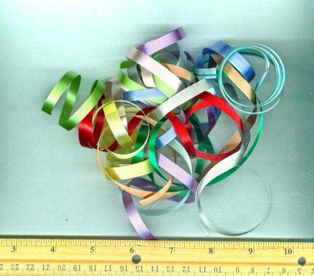 Ribbons for Bow Making Dollhouse or Barbie Miniatures Size Variety 10 pack of