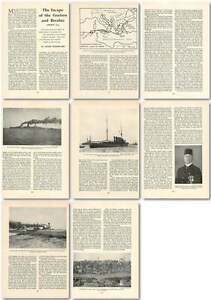 1960-The-Escape-Of-The-Goeben-And-Breslau-August-1914-Old-Article