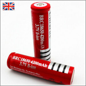 2-x-Ultrafire-18650-4200-3-7V-Rechargeable-Li-ion-Battery-for-Flashlight-torch