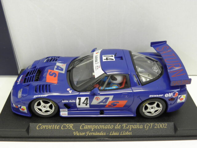 Fly a128 slot car CORVETTE c5r campeonato de espana GT 2002 No. 14 M .1: 32