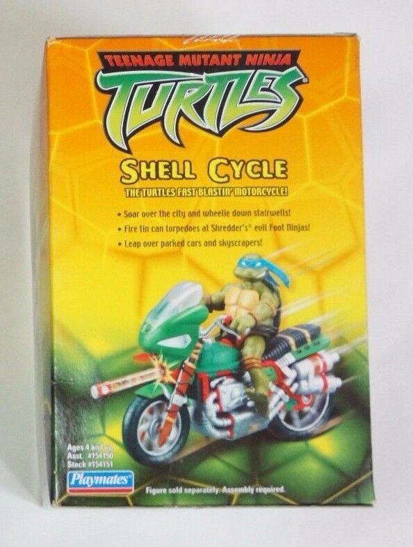 PLAYMATES TOYS TEENAGE MUTANT NINJA TURTLES   Shell Cycle Cycle Cycle Vehicle Motorcycle d2e001