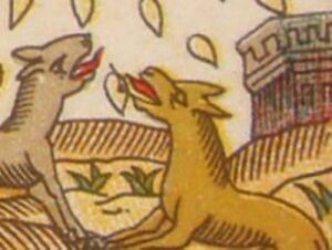 Tarot-de-Lequart-Grimaud-Facsimile-contrecolle-artisanalement-a-l-039-ancienne