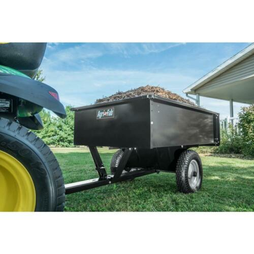 Utilitaire 12 Acier Dump Panier Pelouse Jardin remorque universel attelage tracteur tirant