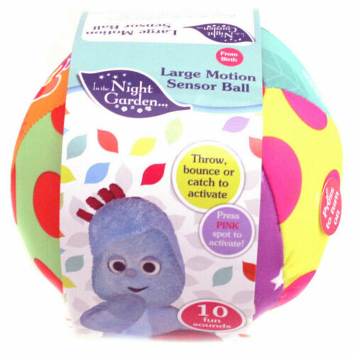In The Night Garden Large Motion Sensor Ball Sounds Phrases Activity Toy Baby