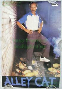 NITF-Vintage-Original-NIKE-Bowling-Poster-ALLEY-CAT-Marshall-Holman