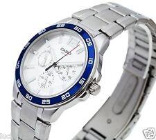 MTP-1300D-7A2 Blue White Men's Watch Casio Day Date 24h Dress 50m